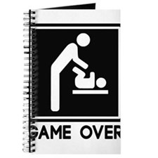 Game Over New Baby for Parent Dad Journal