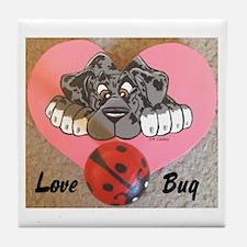 N Mrl Lovebug Tile Coaster