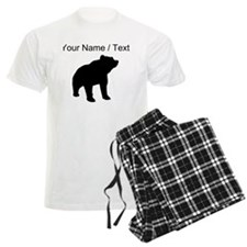Custom Bear Silhouette Pajamas