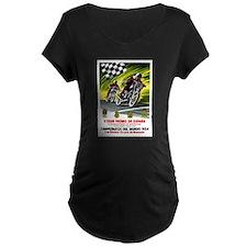 1954 Spanish Grand Prix Motorcycle Race Poster Mat