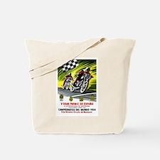 1954 Spanish Grand Prix Motorcycle Race Poster Tot