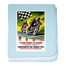 1954 Spanish Grand Prix Motorcycle Race Poster bab