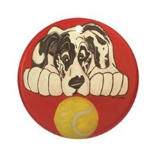 NH Tennisball Ornament (Round)