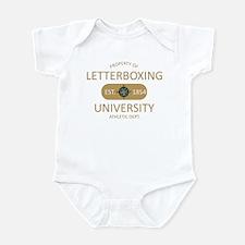 Letterboxing University Infant Bodysuit