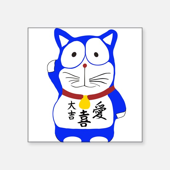 Maneki Neko - Japanese Lucky Cat Sticker