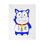 Maneki Neko - Japanese Lucky Cat Twin Duvet