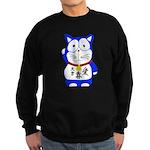 Maneki Neko - Japanese Lucky Cat Sweatshirt
