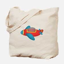 Cute and colourful Jet Plane for Kids Tote Bag