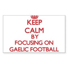 Keep calm by focusing on on Gaelic Football Sticke