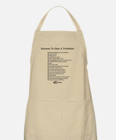 Reasons to date a triathlete Apron