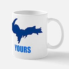 UP YOURS BLUE IMPACT Mug