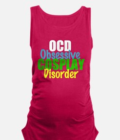 Funny Cosplay Maternity Tank Top