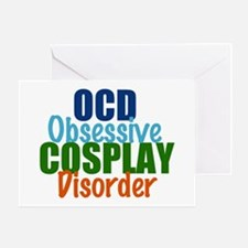 Funny Cosplay Greeting Card