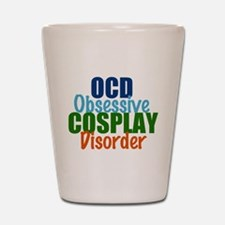 Funny Cosplay Shot Glass