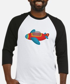 Cute and colourful Jet Plane for Kids Baseball Jer