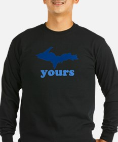 UP YOURS TEE Long Sleeve T-Shirt