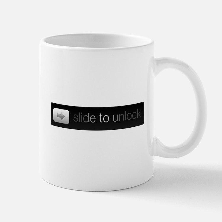 Slide to Unlock Mugs