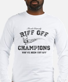 Pitch Perfect Riff Off Champions Long Sleeve T-Shi