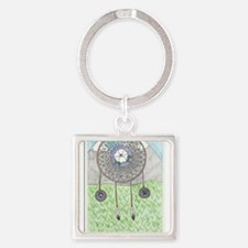 Cherokee Rose Dream Catcher Keychains