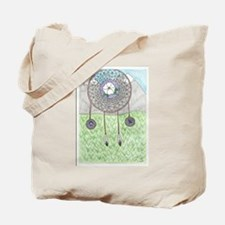 Cherokee Rose Dream Catcher Tote Bag