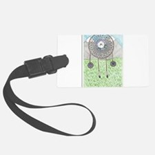 Cherokee Rose Dream Catcher Luggage Tag
