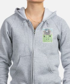 Cherokee Rose Dream Catcher Zip Hoodie
