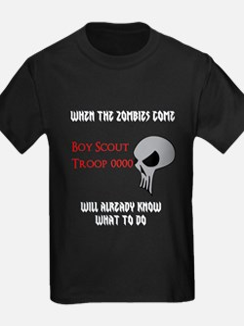 Scouts Vs Zombies (dark) T-Shirt