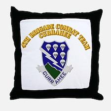 DUI - 4th Brigade Combat Team - Currahee - with Te