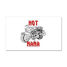 HOT MOTORCYCLE NANA Car Magnet 20 x 12