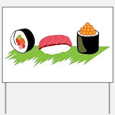 Maki Nigiri Ikura Sushi Yard Sign