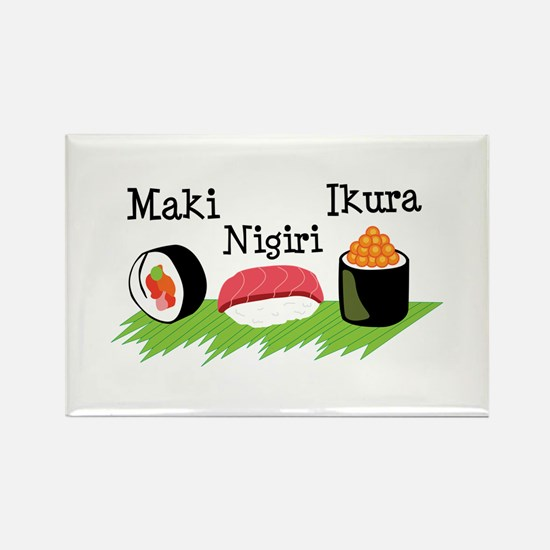 Make Nigiri Ikura Magnets