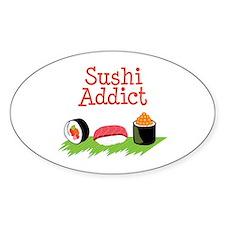 Sushi Addict Decal