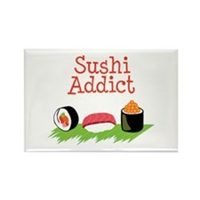 Sushi Addict Magnets