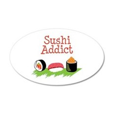 Sushi Addict Wall Decal