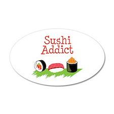 Sushi Addict Wall Decal