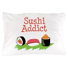 Sushi Addict Pillow Case