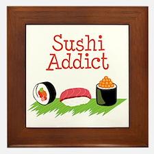 Sushi Addict Framed Tile