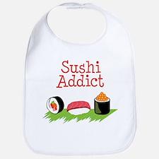 Sushi Addict Bib