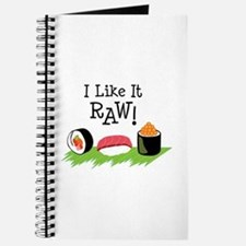 I Like It RAW! Journal