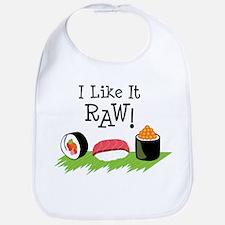 I Like It RAW! Bib