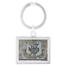 50th Tactical Fighter Wing Toda Landscape Keychain