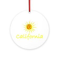 California Sun II Ornament (Round)