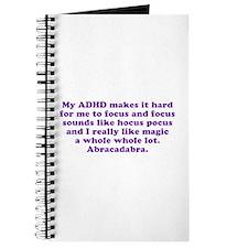 ADHD Magic Hocus Pocus Journal