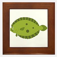 Flounder Framed Tile