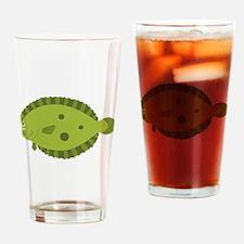 Flounder Drinking Glass