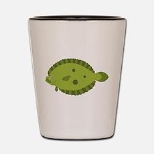 Flounder Shot Glass