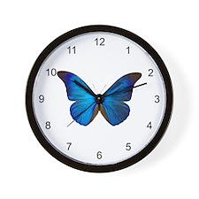 MORPHO RHETENOR D Wall Clock