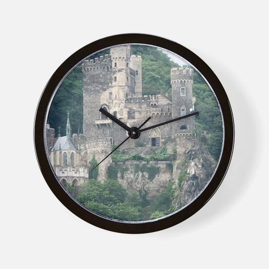 Rheinstein Castle Wall Clock