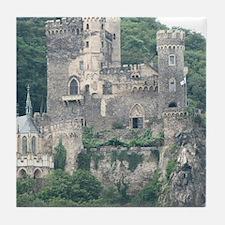 Rheinstein Castle Tile Coaster