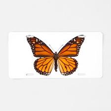 DANAUS PLEXIPPUS V Aluminum License Plate